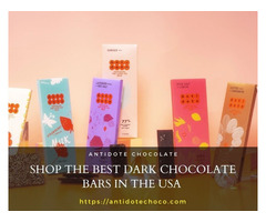 Shop the Best Dark Chocolate Bars in the USA