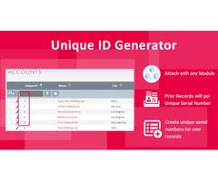 Serial ID Number Generator- Unique ID Number Generator