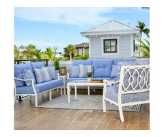 Get Stylish Auburn 5-Piece Outdoor Sofa Set