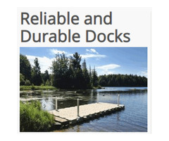 Portable Floating dock systems