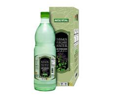 Aksu Vital Turkish Organic Thyme (Oregano) Water with Glass Bottle - 1000ml