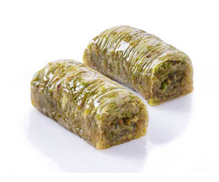 Wrap with Pistachio Baklava