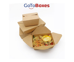 Get custom cheap Noodle Boxes with Logo