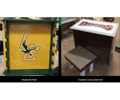 Dugout Renovation - Baseball Rack