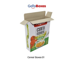 Blank Cereal Boxes Packaging enhance your product beauty