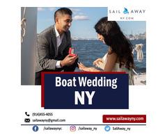 Boat Wedding NY