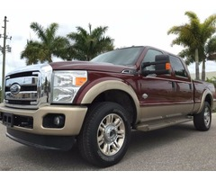 2012 Ford F-250 4X4 KING RANCH CREW CAB