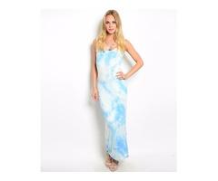 Elba Sleeveless Maxi Dresses