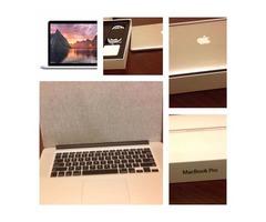 Never used new Apple Macbook Pro 15.4 Retina i7 1TB