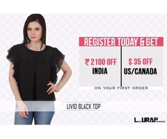Buy Latest variety in Trendy Plus Size Blouses for Work