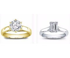 Get your diamond solitaire engagement rings today from Lion Diamonds