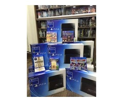 SONY PS4 500GB with 2 Controllers and 5 Free Games