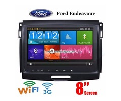 Ford Endeavour 8inch car dvd stereo radio wifi 3G gps navi mirror link bluetooth