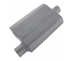 """Flow master original 40 series Muffler, 2.5"""" offset Inlet/ Outlet center 42541"""