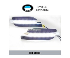 BYD L3 DRL LED Daytime driving Lights Car front daylight autobody light