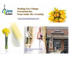 Nearest Dry Cleaners Charlotte | Happy Friendship Day From Sunnys Dry Cleaners