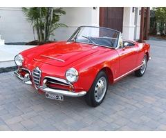 1965 Alfa Romeo Giulietta Spider