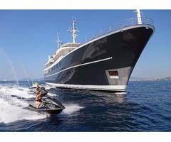 Super Yacht 220 Feet Vuyk en Zonen Model 1965.