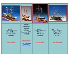 Wood model ship kits for sale