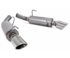 Brand New MBRP Installer Series Axle-Back Exhaust for 2005-2010 Mustang GT/GT500