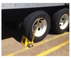 Dock Chock | Truck Chock | Ergonomic Wheel Chock