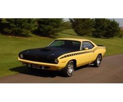 1970 Plymouth Barracuda AAR Cuda