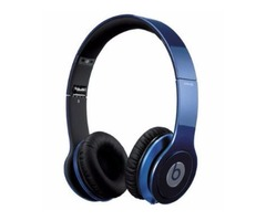 Monster Beats by Dr. Dre Solo HD On-Ear Headphones with Mic - Dark Blue