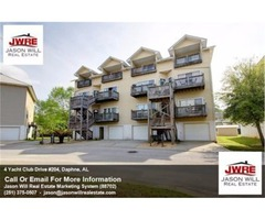3 Bedroom Affordable Waterfront Condo Unit in Sunset Bay Villas Daphne AL