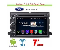 Ford F550 Android 5.1 Car GPS Radio WIFI 3G DVD Player multimedia