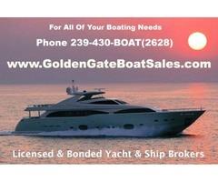 GOLDEN GATE BOAT SALES - Licensed & Bonded Yacht & Ship Brokers