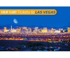 Cheap Flight Tickets to Las Vegas