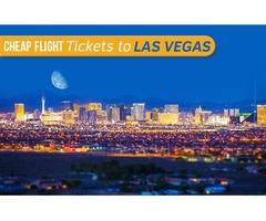 Cheap Flight Tickets to Las Vegas