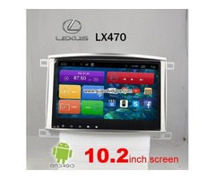 Lexus LX470 car radio android APP wifi GPS 3G Apple CarPlay Mirror Link