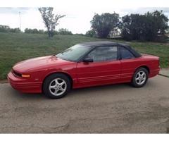 1995 Cutlass Supreme Convertible-Red