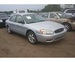2007 FORD TAURUS for Sale at Salvage Title Cars Online Auction