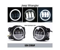 Jeep Wrangler Power 30W CREE Auto DRL Lighting Headlamp external LED Fog Light
