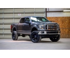 2015 ford f 150 xlt lifted 4x4 truck trucks commercial. Black Bedroom Furniture Sets. Home Design Ideas