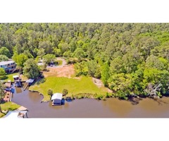 1.75 Acres Prime Riverfront Property on Sweeney Road Summerdale