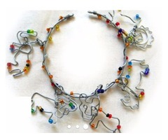 Handcrafted bamboo jewellery Spain