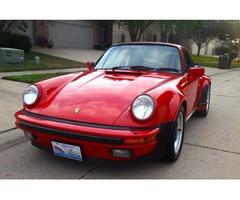 1987 Porsche 911 930 turbo carrera coupe