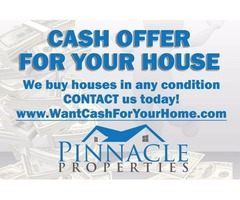 GET A FAST, FAIR CASH OFFER For Your House!