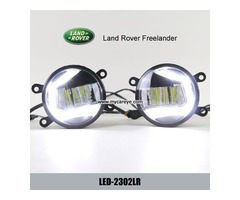 Land Rover Freelander front fog lamp replacement LED daytime running lights
