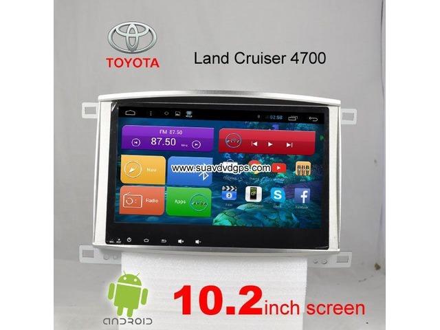 Toyota Land Cruiser 4700 car pc radio DAB+ android wifi gps