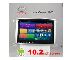 Toyota Land Cruiser 4700 car pc radio DAB+ android wifi gps navigation 3G