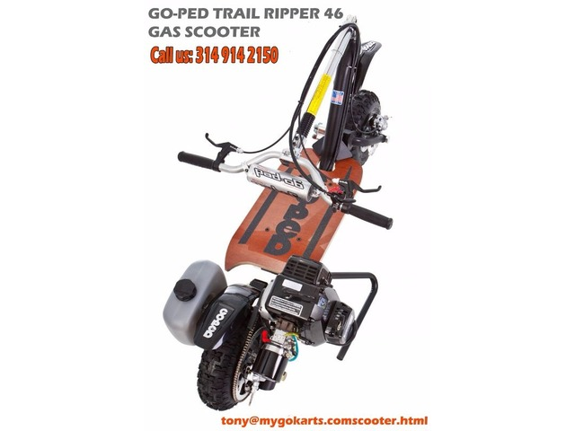 Go-Ped Trail Ripper 46 Gas Scooter - Motorcycles - Vandalia