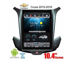 Chevrolet Cruze radio upgrade 10.4inchandroid wifi 3G GPS 2015-2016 car