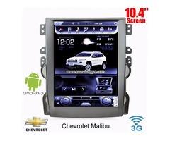 Chevrolet Malibu radio car android wifi 3G gps 10.4inch Apple CarPlay