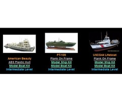 Wood Model Ship Kits