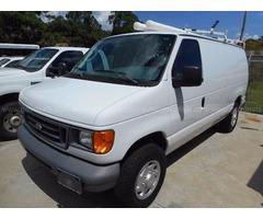 2007 Ford Econoline Cargo Van E-250 Commercial (#64-1829)