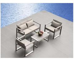 Outdoor Aluminum Dining Sets Home Furniture Garden